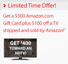 Verizon Limited Time Offer Amazon Prepaid Card