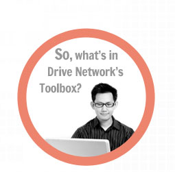 So, what's in Drive Network's toolbox?