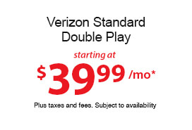 Verizon Standard Double Play