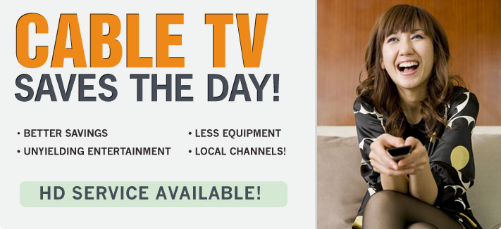Cable TV Saves the Day With Great Deals on Cable Television and Internet Bundles!